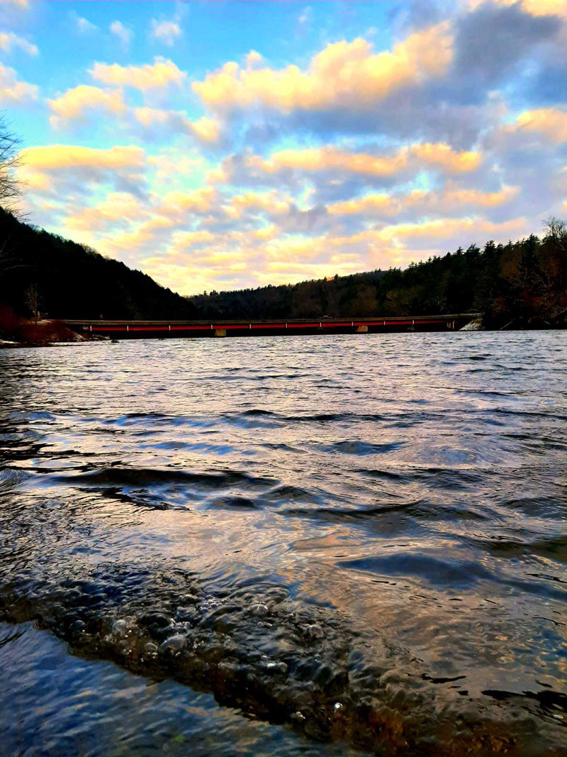 Along the Clarion River. Submitted by Darren Troese.