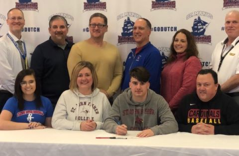 Jake Meeker signs with St. John Fisher
