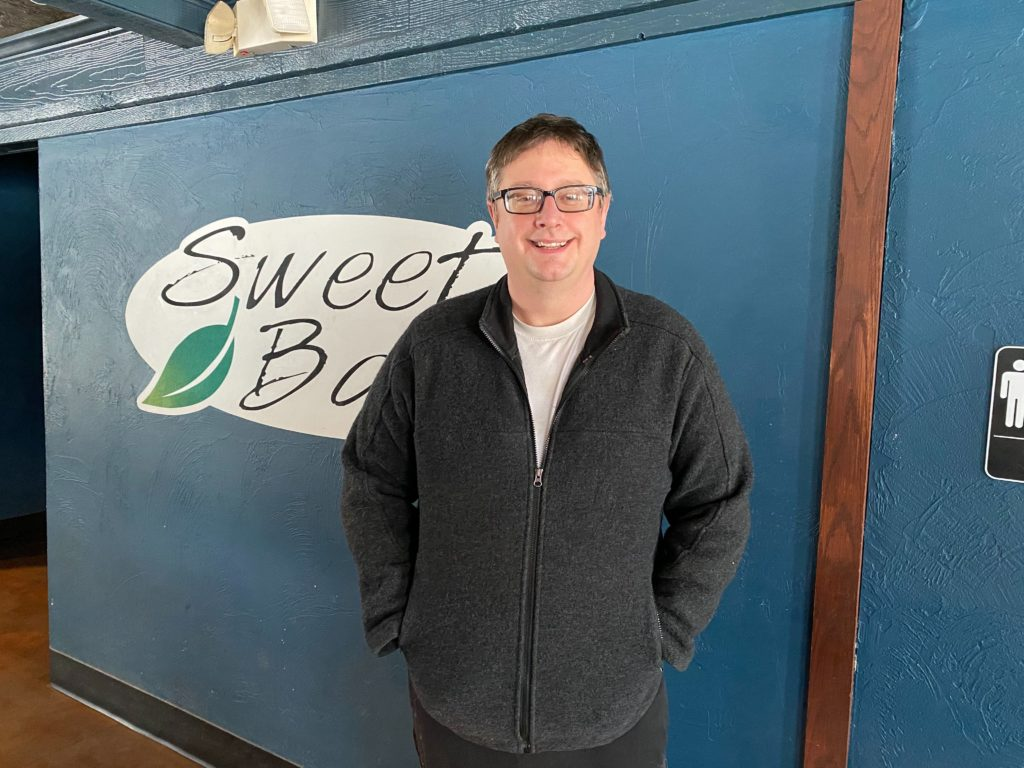 Jason Conley, owner of Sweet Basil.