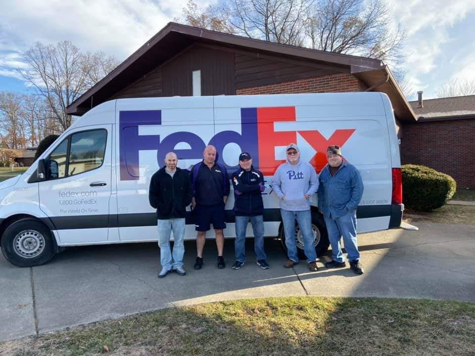 Dan Mastri collected nearly $25,000.00 worth of items for Christmas of 2019.