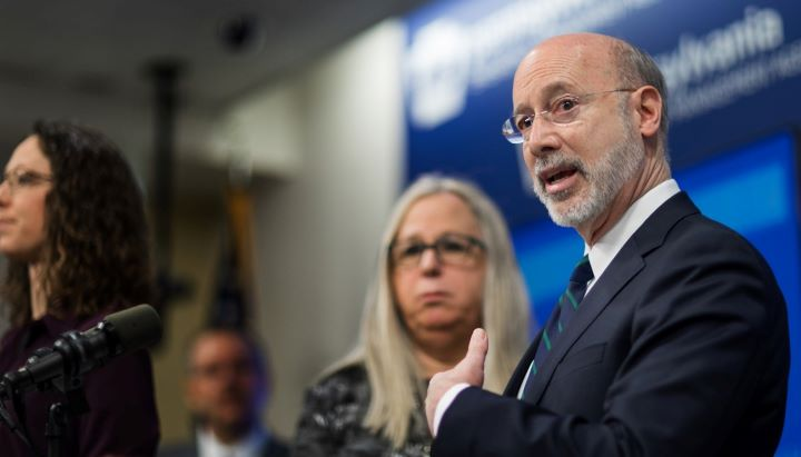"""Gov. Tom Wolf said Tuesday that Pennsylvania doesn't have """"a lot of good leads"""" on how to increase contact tracing, even as he outlines plans to begin reopening some counties. Other states are banding together to create a new public health workforce."""
