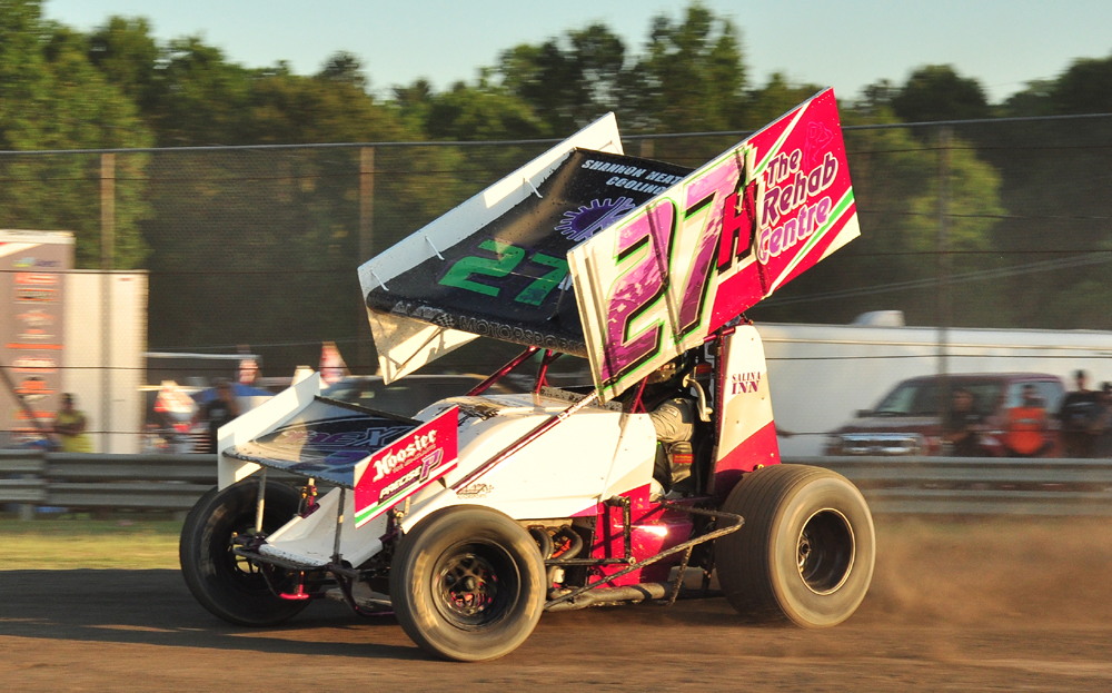 Brandon Hawkins will be remembered this Saturday at Mercer Raceway with a race in his honor. Photo by Rick Rarer.
