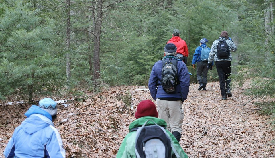 North-Country-Trail-winter-hike-Clarion-County-Trails-Association