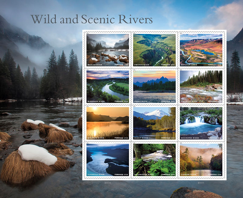 Wild-Scenic-Rivers-Stamps