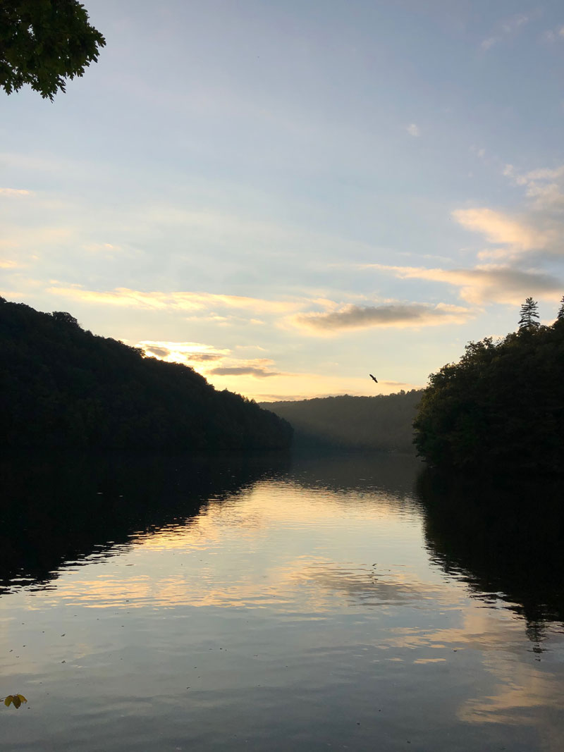 Captured along the Clarion River by Garbo.