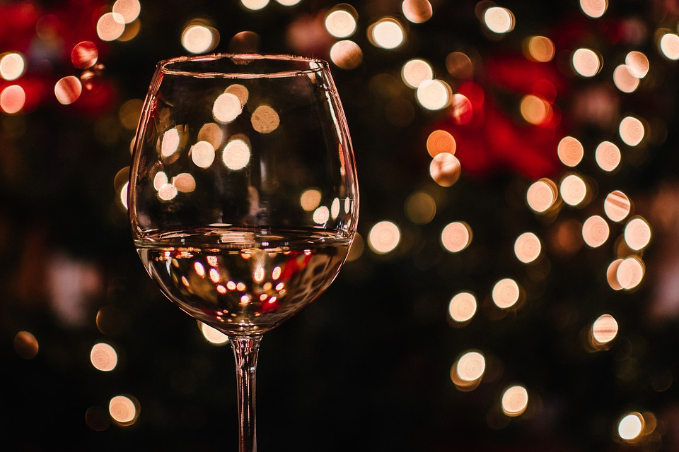 Drink Christmas Festival Brilliant Wallpaper Wine