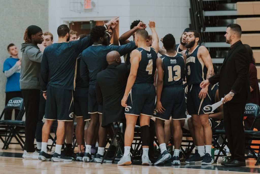 Clarion U Men's Basketball 2020