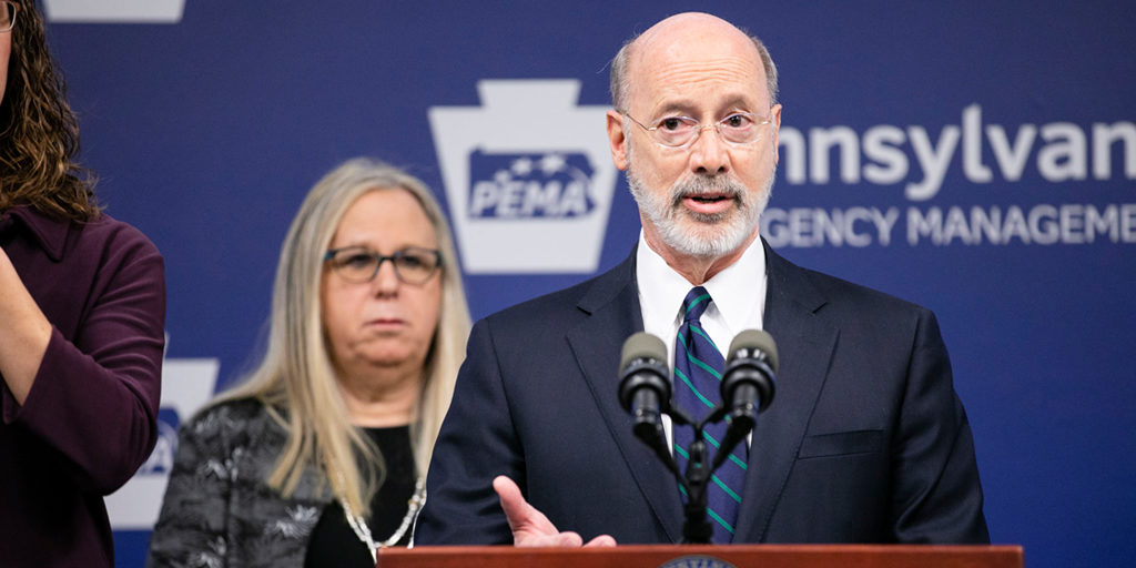 Governor-Wolf-and-Secreatary-Levine-at-PEMA