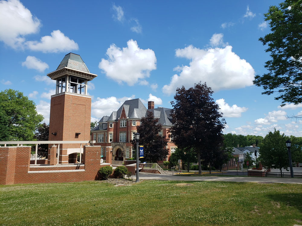 Clarion-University-Campus-Belltower