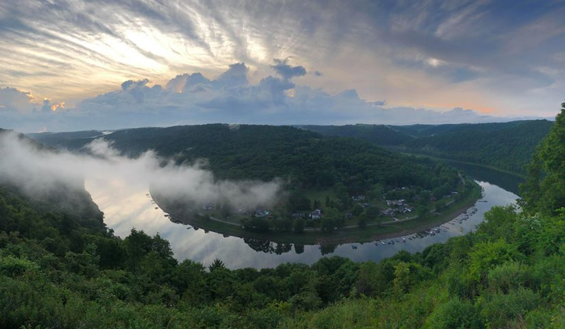 East Brady Overlook. Photo taken and submitted by Jodie Glosser-Beabout.
