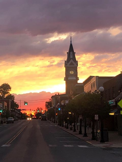 Last Sunday night in Clarion. Submitted by Maribeth Chesterfield.