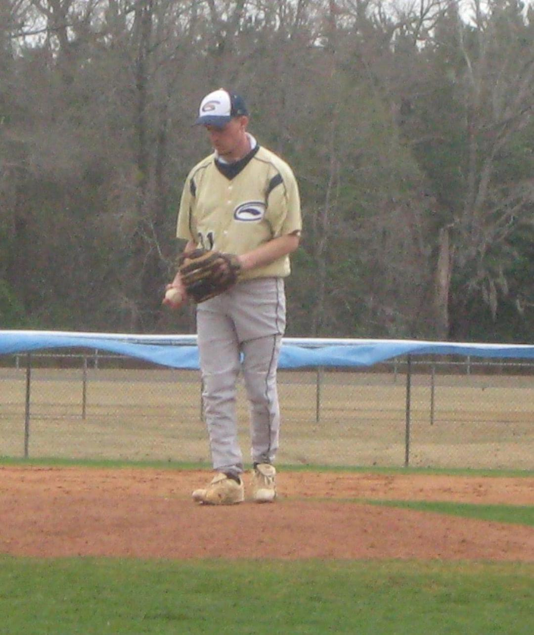 Corbin pitching for CUP