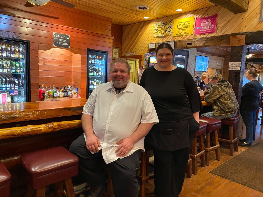 PICTURED: Eric Fye, chef, and Lisa Morgan, manager.