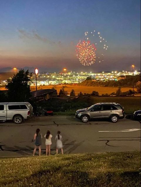 Fireworks in Clarion taken by K. Glosser