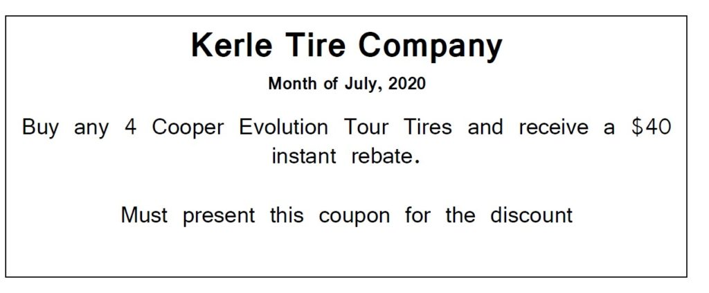 Kerle Tire July