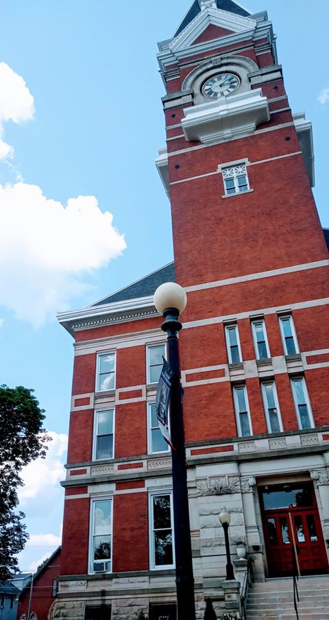 Ground view of the courthouse. Submitted by Quinton Cangelo. Clarion County Photo of the Day is brought to you by Window World of Butler.