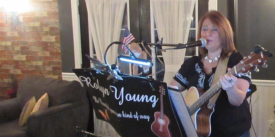 Robyn Young, 6:30 p.m. to 9:30 p.m.