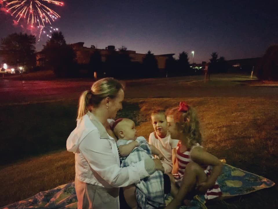Cade's first 4th of July! Photo courtesy of Elicia Kifer. Clarion Co. photo of the day is brought to you by Window World of Butler.