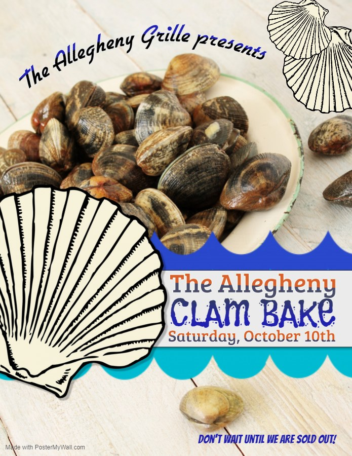 allegheny grille Clam Bake