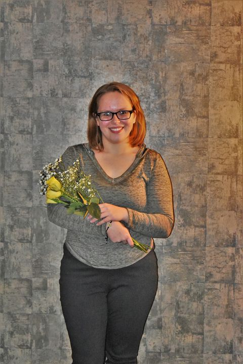 North Clarion High School National Honor Society Inductee Autumn Marie Shaw. Submitted by Michael Shaw.
