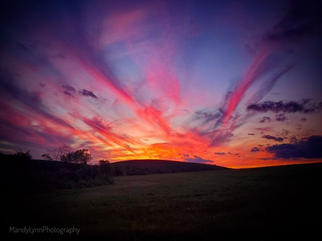 Gorgeous Clarion sunset from the weekend. Submitted by Mandy Rupp.