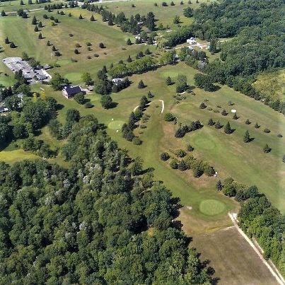 Aerial shot of Hi-Level Golf Course. Submitted by the Golf Course.