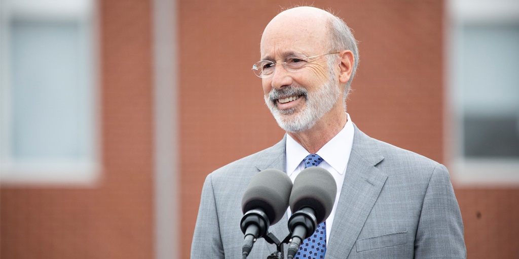 Governor-Wolf-smiling-while-speaking-outside