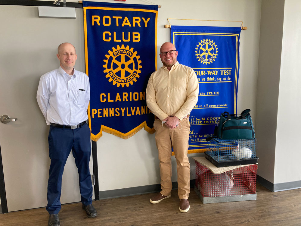 Clarion-Rotary-President-Elect-Tom-Spence-and-Eric-Stewart