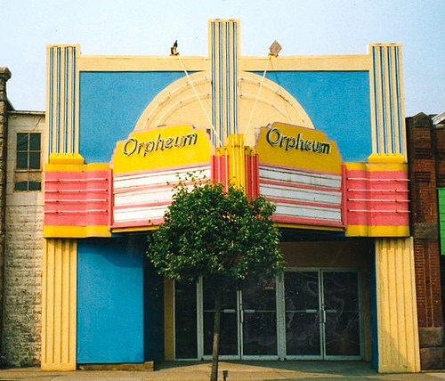 The Orpheum, built in 1925. Photo courtesy of cinematreasures.org.
