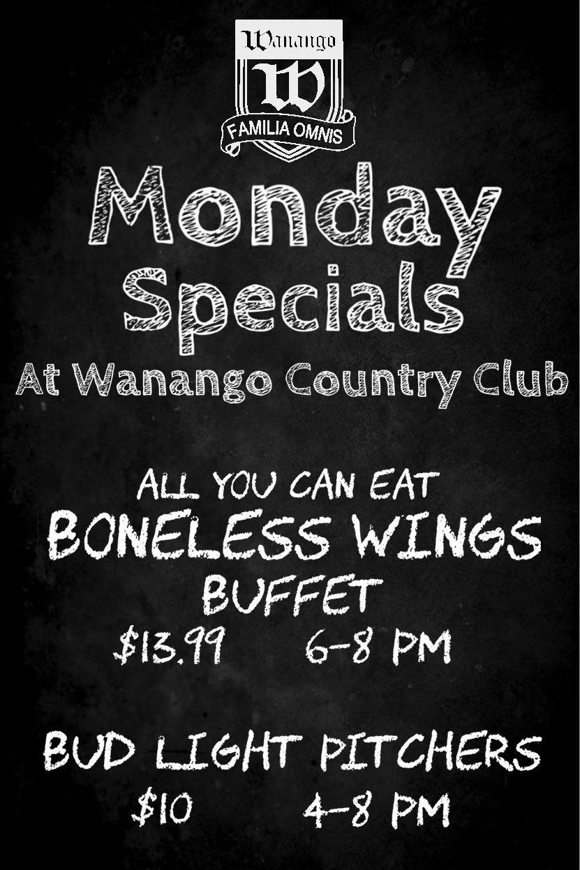 wanango monday specials