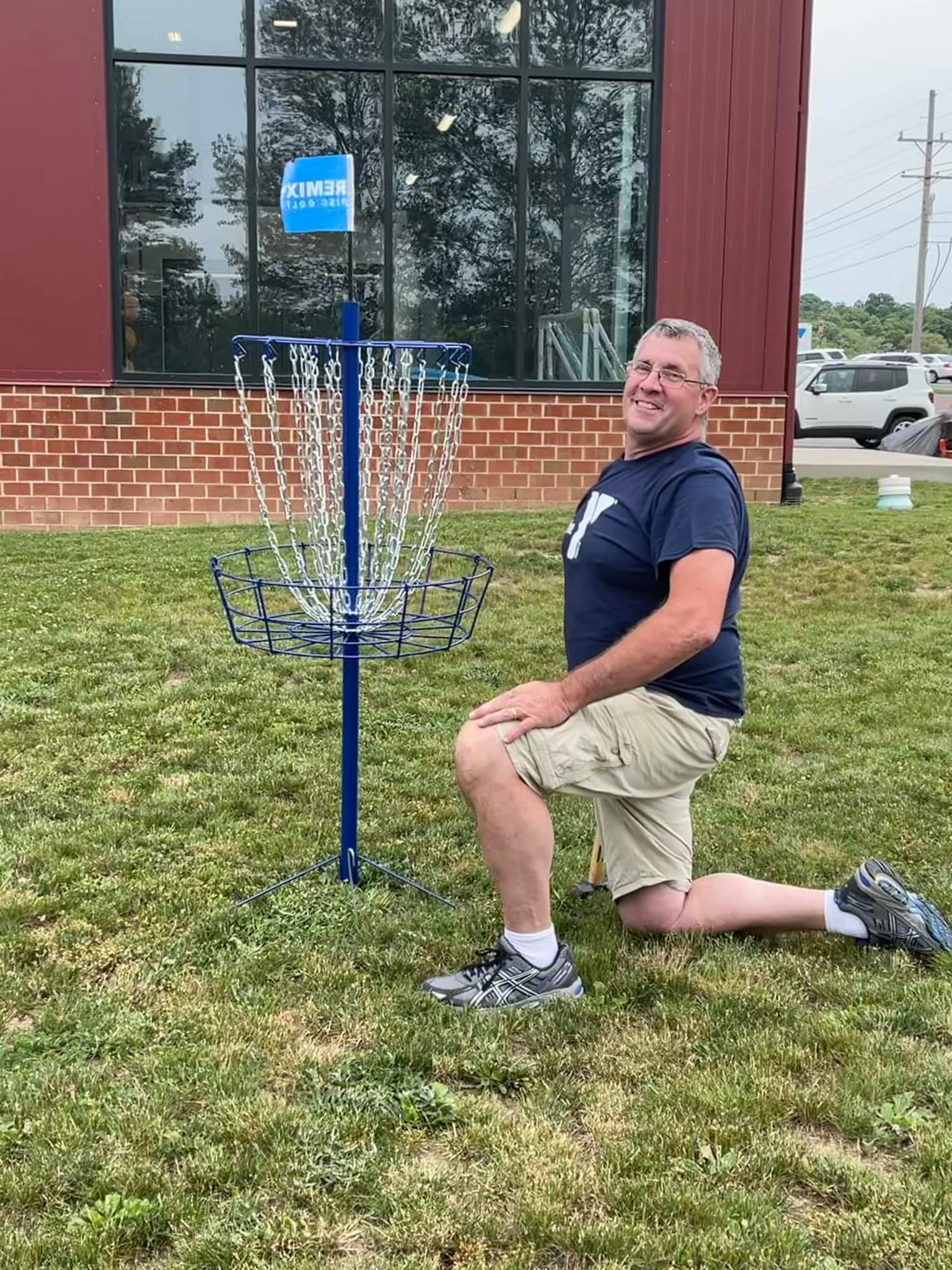 The Clarion County YMCA is now open for disc golf for all members. Photo courtesy of the Clarion County YMCA.
