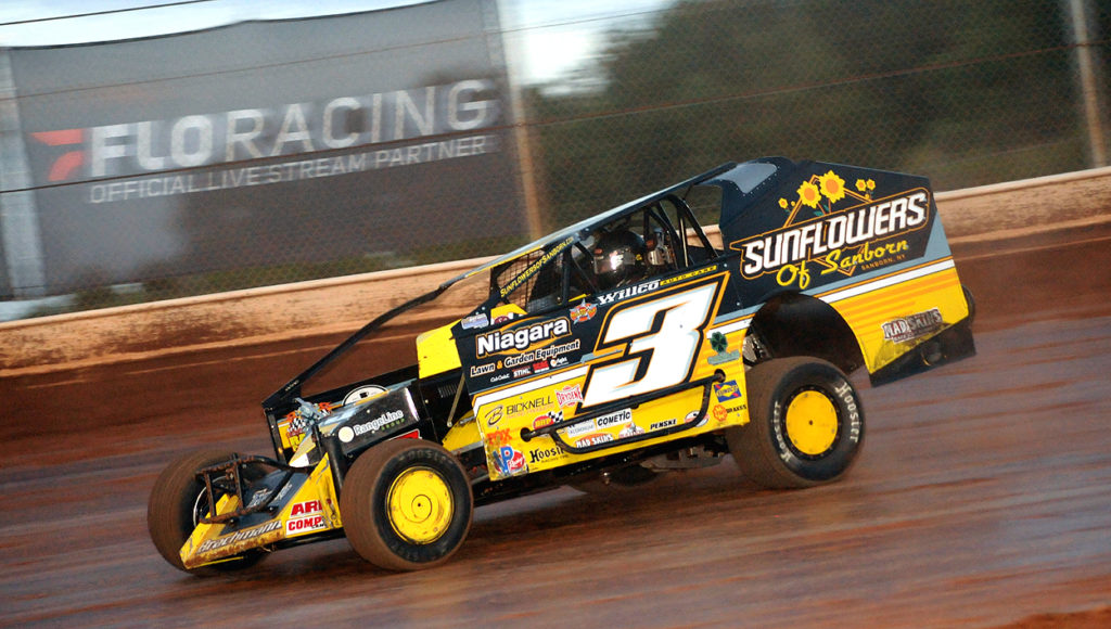 Chad Brachmann scored his first Lou Blaney Memorial win Saturday. Photo submitted by Rick Rarer.