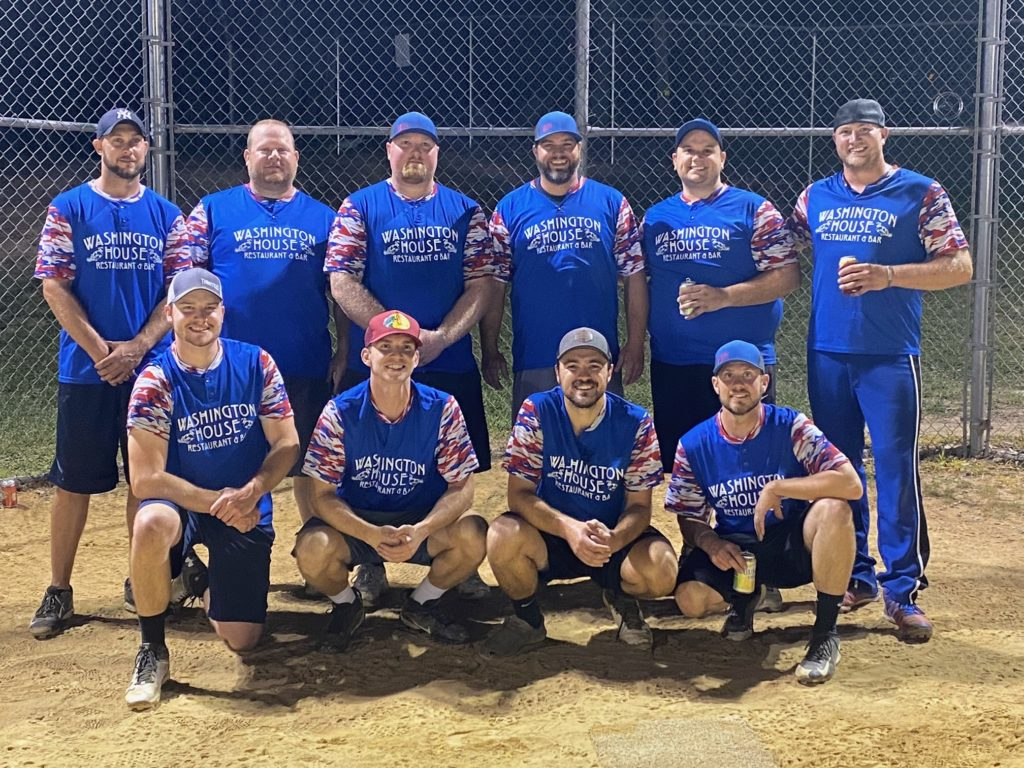The Washington house went undefeated in the Clarion County men's league!  Pictured - Front row: Joel Cyphert, Christian Cyphert, Zayn Hargenrader, Duff. Back row:  Brent Rhoads, Slim, Dylan Nick, Jermey Eisenman, Ty Schill, Justin Schmader. Missing from photo: Mike Clark, Weo, Jermey Mills, Jake Hickman, Jj Schmader, and Dillon Wolbert.