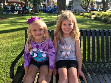 Ruthie Shingledecker & Lily Wensel participated in the  Clarion County Coalition for Suicide Prevention walk on 9/9/21. Submitted by Moira Shingledecker.