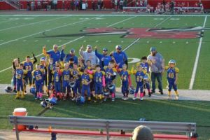 Union Knights Bantams secured an undefeated season. Submitted by Stephanie Crissman.