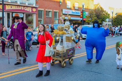Willy Wonka and the Chocolate Factory showed up for the ALF Kiddie Parade! Submitted by Elizabeth Griffin.